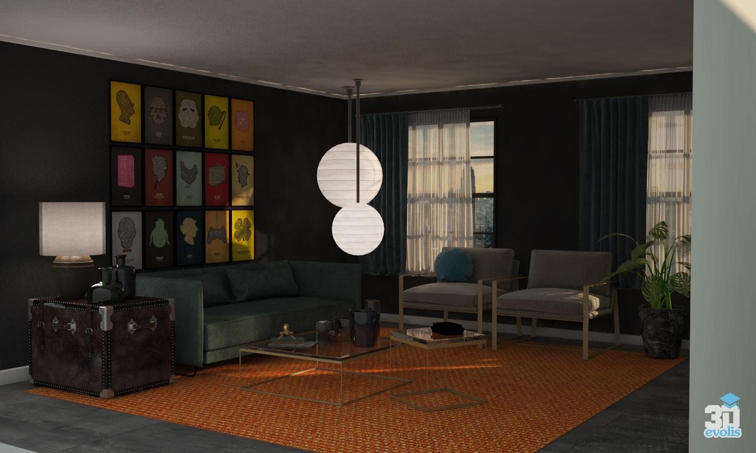 Evolis3d for Master interiorismo barcelona