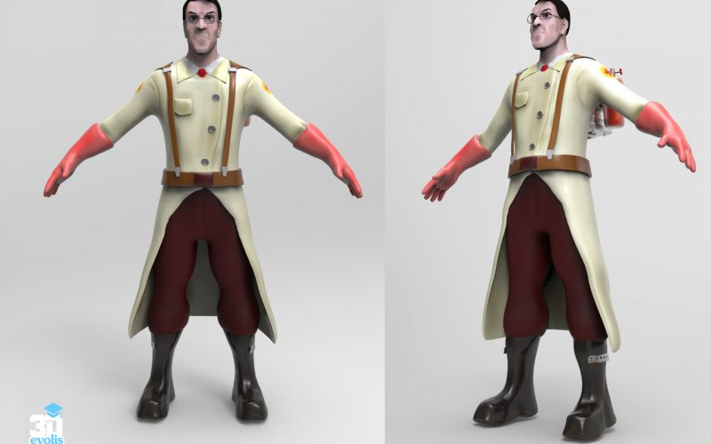 Curso de animación 3d de personajes