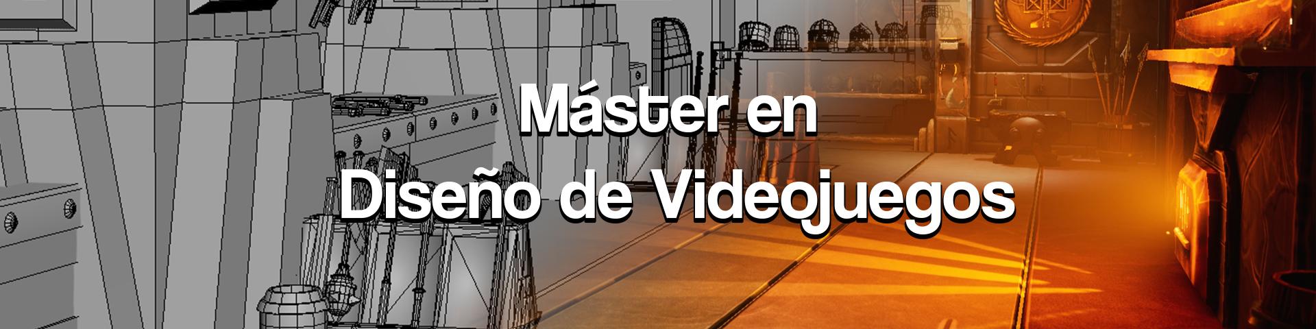 Máster en Diseño de Videojuegos