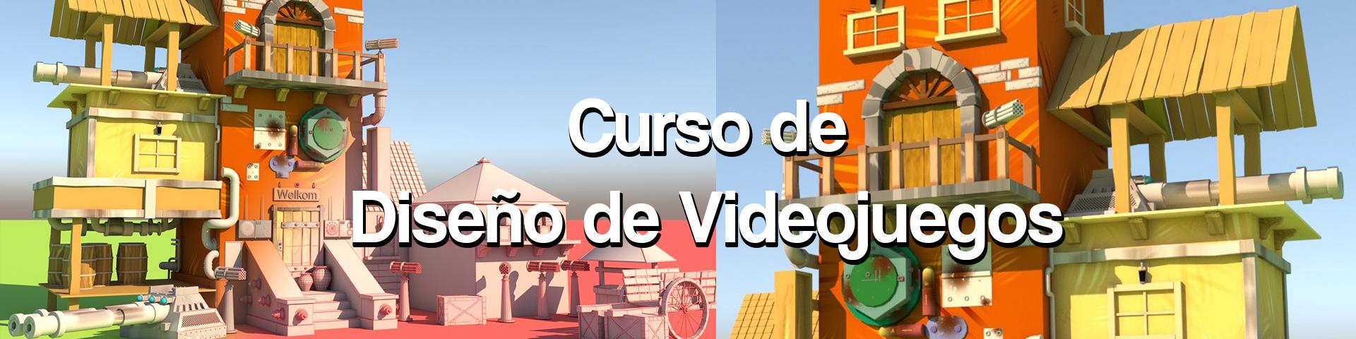 Curso Diseño de Videojuegos 3D